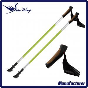 Quality 135cm 2 section carbon fiber walking pole wholesale