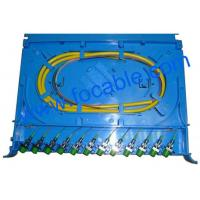 Quality ABS Fiber Optic Splicing Module Small Size and Easy Install Suitable For FC And SC wholesale