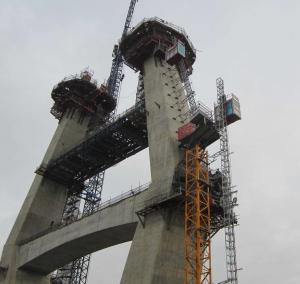 Quality Bridge Pylon Elevator Lift Personnel Hoist Bridge Construction Permanent Installation wholesale