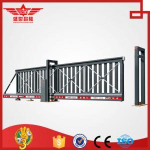 Quality sliding gates basic kombi cantilevered made of aluminum L1502 wholesale