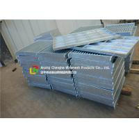 Quality Composite Steel Grating Panels , Corridor / Stairs Metal Grate Cover wholesale