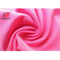 Quality 4 Way Stretch Lycra Swimwear Fabric , Polyester Spandex Jersey Fabric For Underwear wholesale