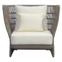 Quality 100% Polyester Cushion Balcony Rattan Patio Leisure Chairs wholesale
