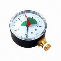 Buy cheap Economic Normal Pressure Gauge/Manometer with Brass/Stainless Steel Connector from wholesalers