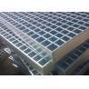 Buy cheap 70mm x 6mm Industrial Floor Grates Galvanized Steel Grating Platform Cross Bar 8mm x 8mm from wholesalers