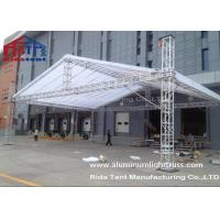 Quality Line Array Stage Lighting Truss Systems 6082-T6 Aluminum Alloy High Hardness wholesale
