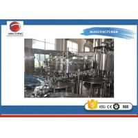 China Stainless Steel Carbonated Drinks Filling Machine 5KW 2000 - 3000BPH High Filling Precision on sale