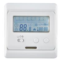 Quality IP20 Heated Floor Thermostat , Floor Digital Easy Heat Thermostat Replacement wholesale