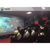 Quality Multiplayer Interactive 7D Shooting Game 7D Movie Theater With Shooting Game And 9 Luxury Motion Seats wholesale