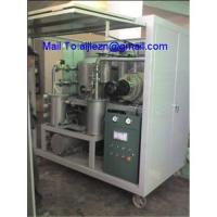 Quality High Efficiency Vacuum Dielectric/Transformer Oil Purifying System Equipment wholesale