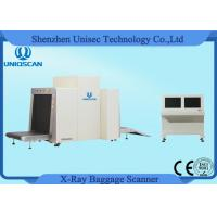 Quality Dual View Low Conveyor X-Ray Parcel Scanner Airport Baggage Scanner Screening 80*65cm wholesale