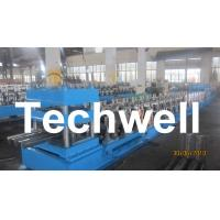 Quality Three Wave Highway Guardrail Cold Roll Forming Machine for 3 Wave Guard Rail Beam wholesale