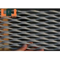 Aluminum 3mm Thick Big Hole Facade Expanded Metal Wire Mesh For Decoration for sale