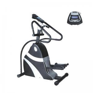 Quality Aerobic Stepper Elliptical Gym Machine Durable Hand Rail LED Display Comfortable wholesale