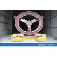Quality Welding Wind Tower Production Line Painting Rotation with Metallic Groove wholesale