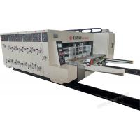 Cheap Automatic Printing Slotting Die-Cutter Corrugated Cardboard Making Machine high precision for sale