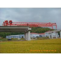 Quality OEM Durable And Reliable Travelling Steel launching Gantry Crane For Railway Construction wholesale