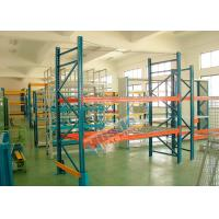 Buy cheap Double Deep Pallet Racking System For Warehouse , Each Level Adjustable Pallet Racking Box Shape Beam from wholesalers