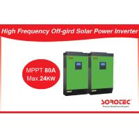 China 5000VA PWM 40A Solar Charge Controller 3 Phase 4000W Inverter on sale