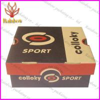 Cheap Corrugated Gift Paper Box Packaging Custom With White Cardboard for sale