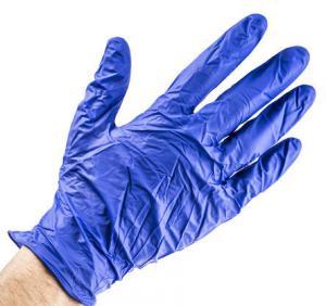 Quality Nitrile Disposable Gloves, Size: 8.5 - L Purple Powder-Free x 100 wholesale