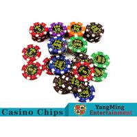 Quality Good Printing Non - Faded Casino Royale Poker Chips With Special ABS Material wholesale
