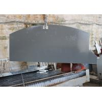Quality Waterproof Grey Mirror Fleck Quartz Stone Countertops , Solid Surface Countertops wholesale