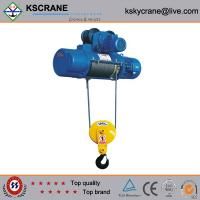 Overhead crane hoist limit switches : Electric wire rope hoist with up and down limit switch