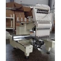 Quality One Head Large Format Embroidery Machine 12 Needle With  270° Wide Angle Cap System wholesale