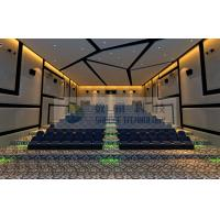 Quality 120 Persons 4D Motion Cinema with perfect fusion effect for amusement and entertainment park wholesale