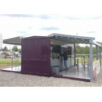 Quality 20ft / 40ft Shipping Container Coffee Shop , Commercial Use Container Coffee House wholesale