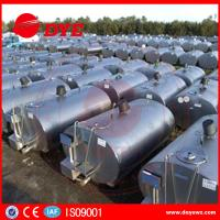 Quality Large Refrigerated Milk Cooling Tank  Milk Transpration Tank CE Approved wholesale