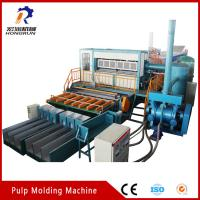 Buy cheap Recycling Waste Paper Egg Tray Machine , Pulp Egg Tray Making Machine from wholesalers