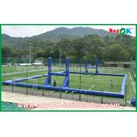China Giant Outside PVC Tarpaulin Inflatable Soccer / Football Field Court CE Standard on sale