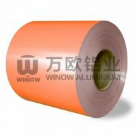 Quality Customized Length Color Coated Aluminium Coil 900-1500mm Width wholesale