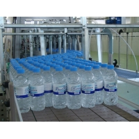 China 20Kw/H Water Bottle Shrink Wrapping Machine 10Packs/Min Shrink Film Packaging Machine on sale