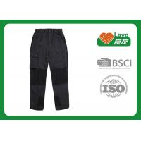 Quality Outdoor Mountain Climbing Pants , Black Hunting Pants Men L-080 wholesale