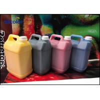 China Outdoor Digital Printing Konica Solvent Ink , Non Toxic Wide Format Ink on sale