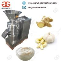 China Ginger Garlic Paste Making Machine/Peanut Butter Making Machin/Tomato Paste Making Machine on sale