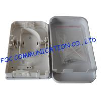 Buy cheap Plastic Fiber Optic Terminal Box Wall Mount Fiber Cable Protection Pigtail Loaded from wholesalers
