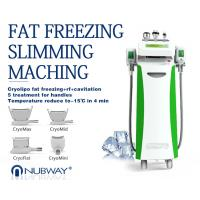 Quality Popular fine quality 10.4 inch touch color screen cooling cryolipolysis cavitation multifunction slimming machine wholesale