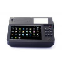 Quality 8 Inch Cash Register Touch Screen POS System All In One With Printer / Barcode Scanner wholesale