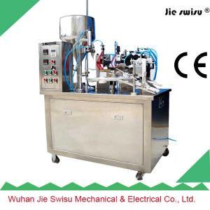 Quality Hot Jie Swisu Plastic Aluminium Manual Tube Sealing Cutting Machine wholesale
