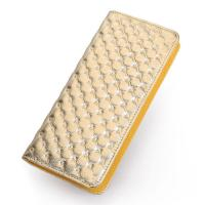China Wholesale Socialite Ladies Designer Leather Clutch Wallet on sale