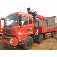 China 90 Km/H Max Speed Used Truck Mounted Crane With Multiple Loading Capacity on sale