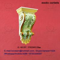 Quality Factory price decorative pu exotic corbels/ exterior corbels wholesale