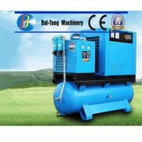 Quality Electric Screw Industrial Air Compressor Air / Water Cooling Method High Durability wholesale