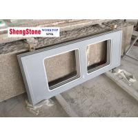 Quality Grey Epoxy Resin Laboratory Countertops With Double Single Water Trough Hole wholesale