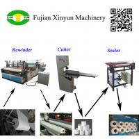 Quality Semi automatic small toilet paper making machine production line wholesale