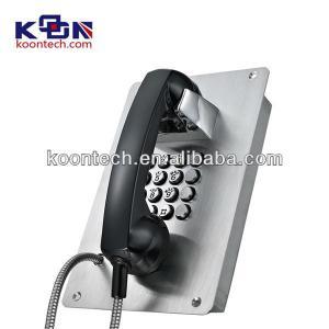 Quality Caller ID Weatherproof Emergency Phone SUS 304 Vandal Resistant wholesale
